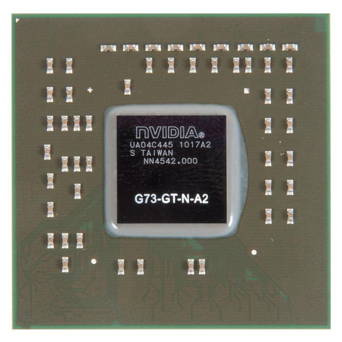 G73-GT-N-A2 видеочип nVidia GeForce Go7600, новый в Москве