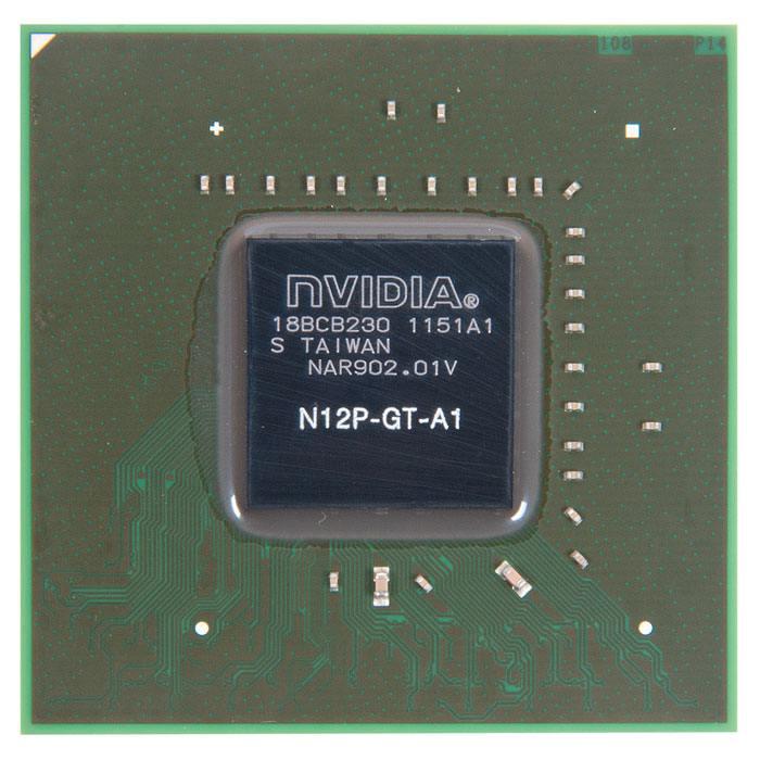 N12P-GT-A1 видеочип nVidia GeForce GT550M, новый в Санкт-Петербурге