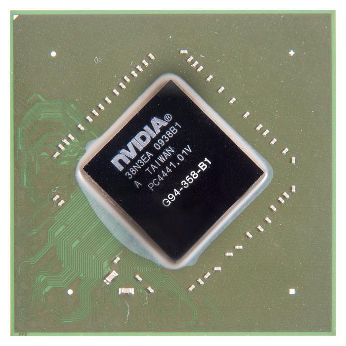 G94-358-B1 видеочип nVidia GeForce 9600 GT, с разбора в Москве