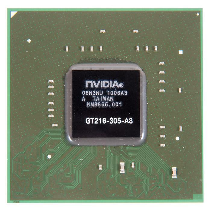GT216-305-A3 видеочип nVidia GeForce GT210, новый в Ростове-на-Дону