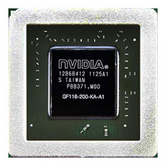 GF116-200-KA-A1 видеочип nVidia GeForce GTS 450, новый в Краснодаре