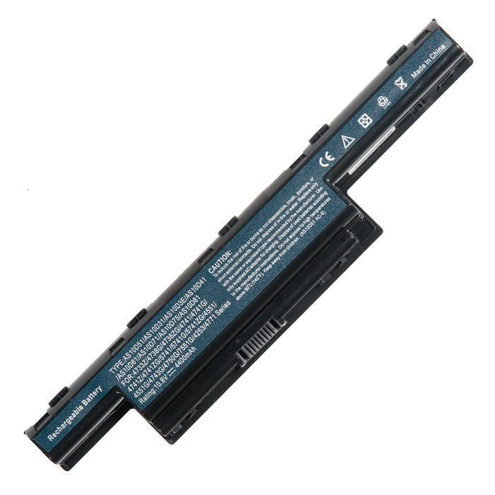 комплектующие для ноутбуковблоки питания и аккумуляторыаккумуляторы                         Аккумулятор для ноутбука Acer aspire e1 571g