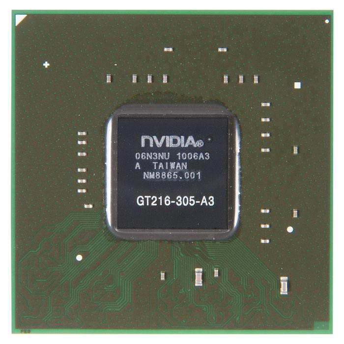 GT216-305-A3 видеочип nVidia GeForce GT210, с разбора в Ростове-на-Дону