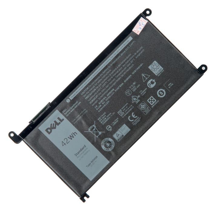 WDX0R аккумулятор для ноутбука Dell Inspiron 15-5538, Vostro 15-5568, 13MF PRO-D1508TS, 13MF PRO-D1708TS, Inspiron 13 7368, 11.4V 3500mAh в Москве
