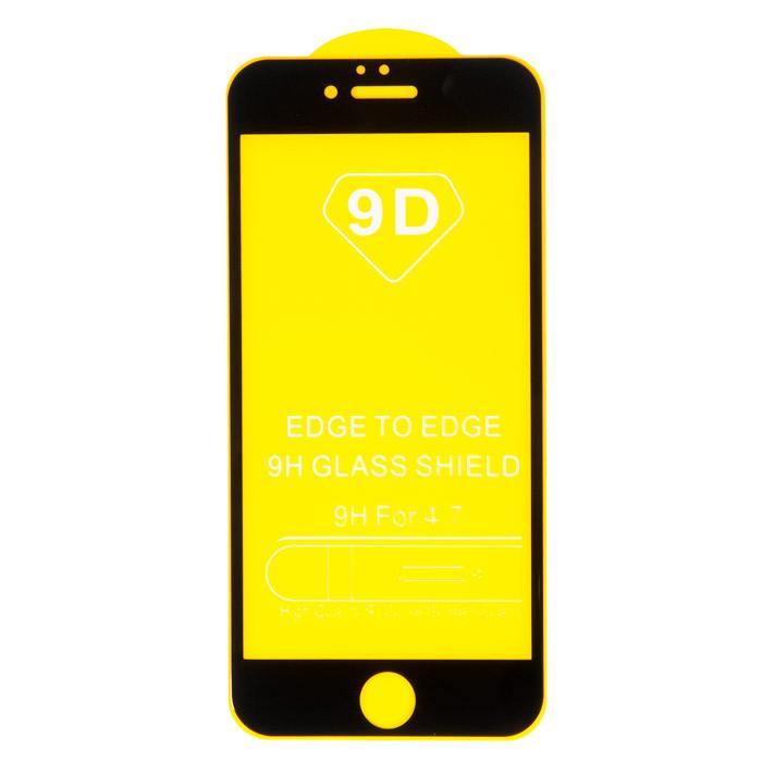 IPhone 6 защитное стекло 3D/5D/9D/11D  на дисплей для iPhone 6, iPhone 6S, черный (без упаковки) в Волгограде