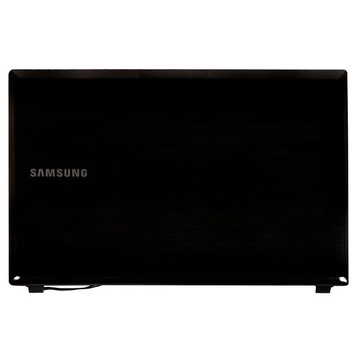 BA75-02732C крышка экрана (матрицы) для Samsung R425 серая, мелкие царапины, с разбора в Самаре