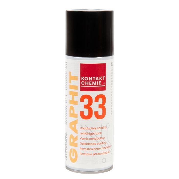GRAPHITE 33 токопроводящее покрытие на основе графита, Kontakt Chemie объем 200 мл в Москве